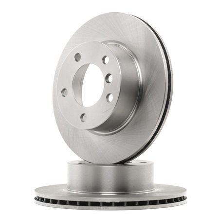 Bremsscheibe Bremsscheibendicke: 22mm, Lochanzahl: 5, Ø: 284mm mit OEM-Nummer 34 116 792 215