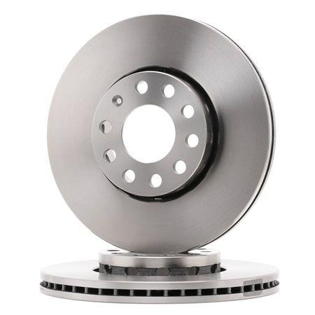 Frenos de disco FERODO DDF1706 ventilado, con tornillos