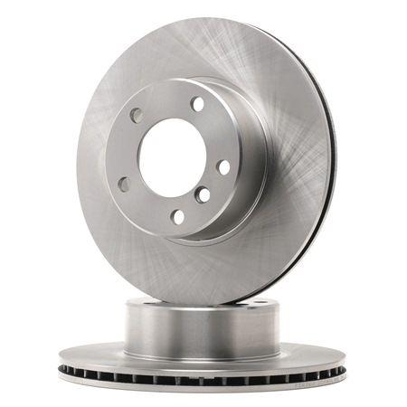 Bremsscheibe Bremsscheibendicke: 22mm, Lochanzahl: 5, Ø: 296mm mit OEM-Nummer 34 111 163 013