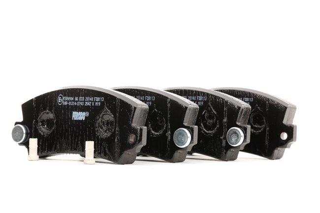 Bremsbelagsatz, Scheibenbremse Höhe 1: 49mm, Dicke/Stärke: 15mm mit OEM-Nummer 3411 2 339 270