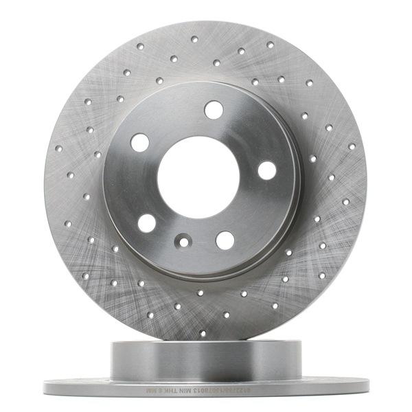 Bremsscheibe Bremsscheibendicke: 10mm, Ø: 264mm mit OEM-Nummer 95 526 658