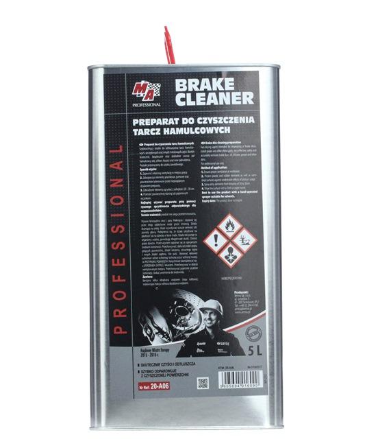Productos de limpieza del freno y embrague MA PROFESSIONAL 20-A06 para auto (Xtreme Spray brillante para neumáticos, Capacidad: 5L, Cisterna)