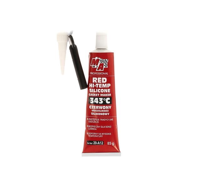 Kühlerdichtmittel MA PROFESSIONAL 20-A12 für Auto (Tube, Inhalt: 85ml, Silikon, dauerelastisch, ölbeständig, rot)