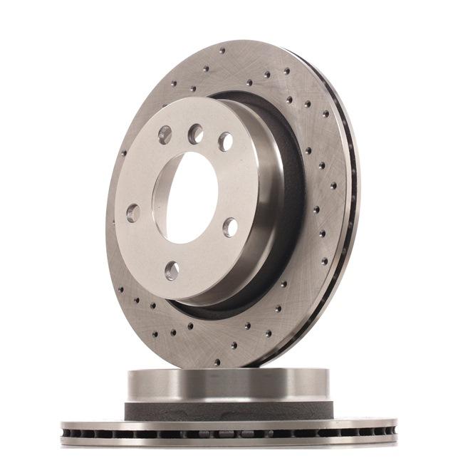 Bremsscheibe Bremsscheibendicke: 19mm, Lochanzahl: 5, Ø: 276mm mit OEM-Nummer 34216855155