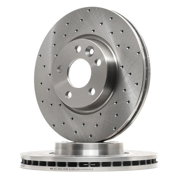 Bremsscheibe Bremsscheibendicke: 28mm, Ø: 300mm mit OEM-Nummer LR-000571