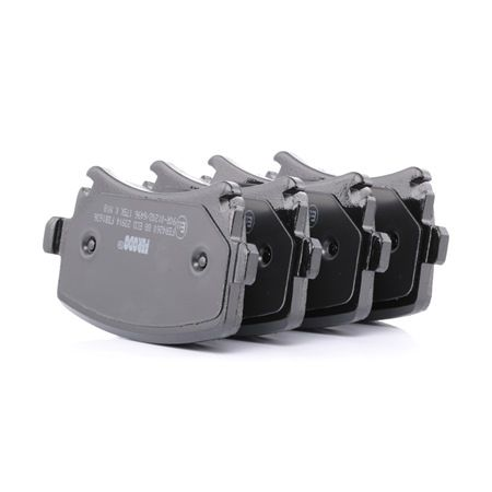 Bremsbelagsatz, Scheibenbremse Höhe 1: 55,5mm, Dicke/Stärke: 16,9mm mit OEM-Nummer 3C0 698 451 A
