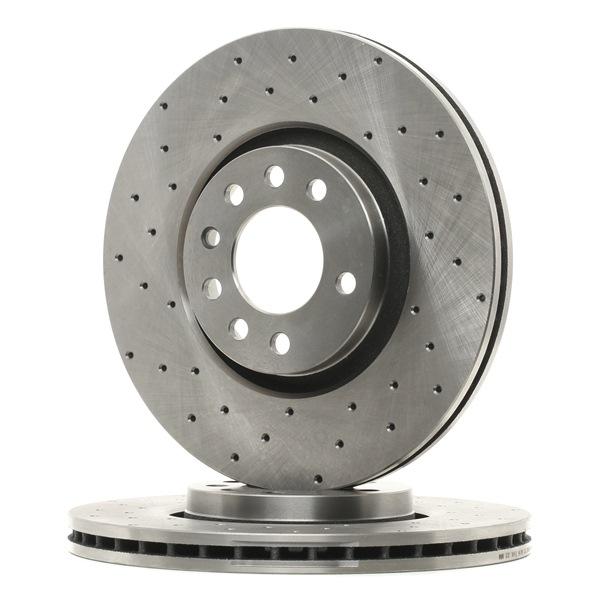 Brake Disc 82B2493 Astra Mk5 (H) (A04) 2.0 Turbo MY 2007