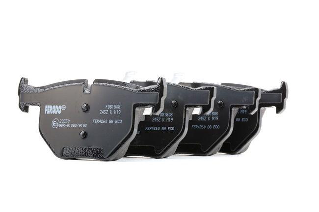 Brake Pad Set, disc brake FDB1808 3 Saloon (E90) 335d 3.0 MY 2009