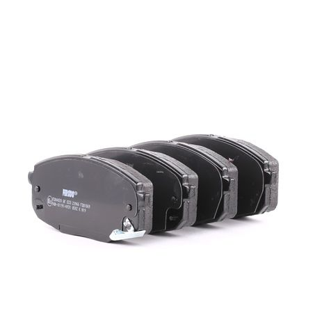 FERODO PREMIER ECO FRICTION Τακάκια φρένων με ηχητική προειδοποίηση φθοράς, με κλιπ εμβόλου