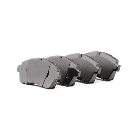 Brake Pad Set, disc brake FDB4179 FERODO Front Axle, not prepared for wear indicator, with brake caliper screws Height 1: 52mm, Thickness 1: 17,5mm, Thickness: 17,1mm