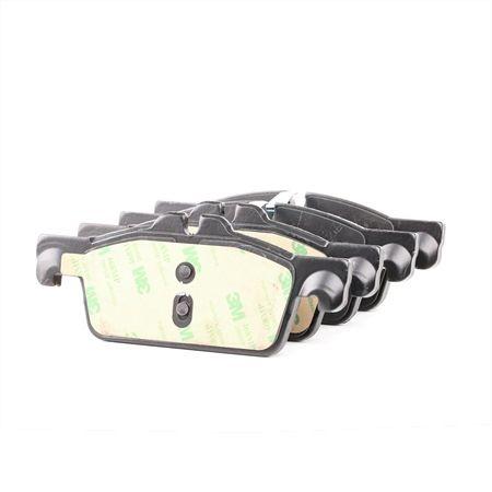 FERODO PREMIER ECO FRICTION inkl. Verschleißwarnkontakt, mit Kolbenclip, ohne Zubehör FVR1642