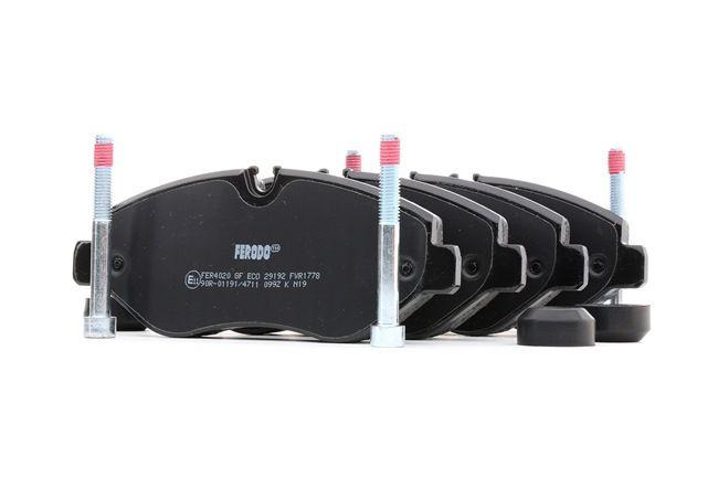 Bremsbelagsatz, Scheibenbremse Höhe 1: 66,9mm, Dicke/Stärke: 20,8mm mit OEM-Nummer 2E0698151
