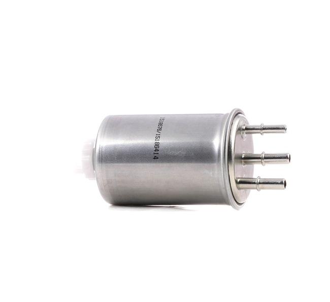 Filtro de combustible RIDEX 15186414 Filtro de tubería, Tipo de combustible: Gasóleo