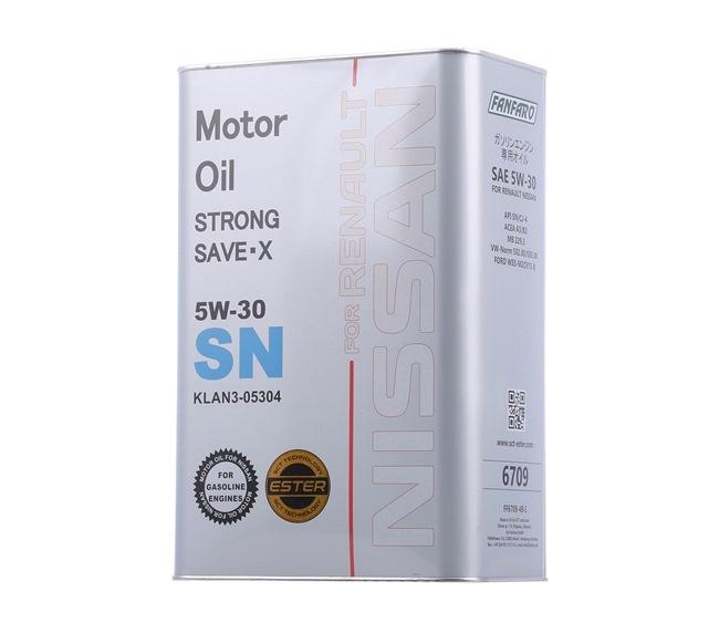 Двигателно масло 5W-30, съдържание: 4литър EAN: 4036021545684