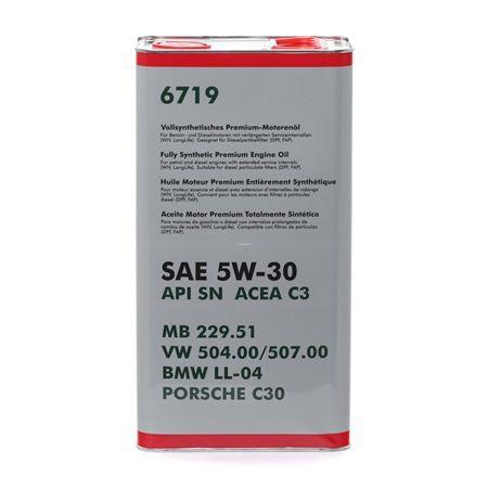 Motorenöl 5W-30, Inhalt: 5l EAN: 4036021547909