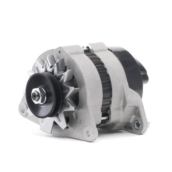 RIDEX Generador RENAULT Corr. carga alternador: 35A, Tensión: 12V, con regulador incorporado