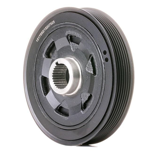 OEM Belt Pulley, crankshaft RIDEX 3213B0151