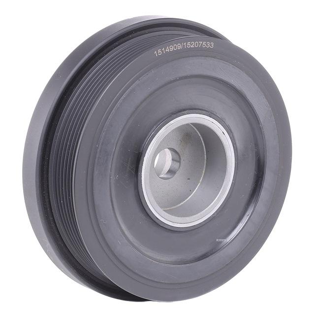 OEM Belt Pulley, crankshaft RIDEX 3213B0152