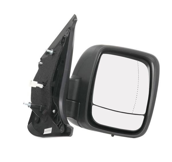 RIDEX rechts, elektrisch, asphärisch, beheizt, Komplettspiegel, mit Temperatursensor, mit Weitwinkelspiegel 50O0474