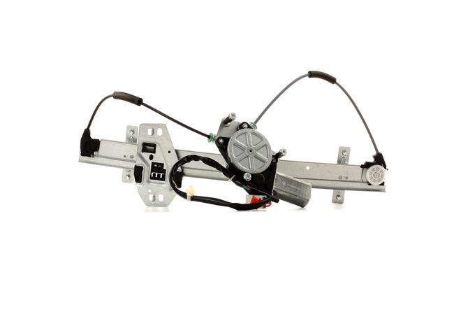 Mecanismo de elevalunas RIDEX 15216051 Delante, izquierda, Tipo de servicio: eléctrico, con electromotor