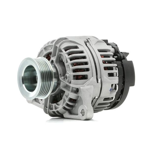 RIDEX Generador IVECO Corr. carga alternador: 90A, Tensión: 12V, con regulador incorporado