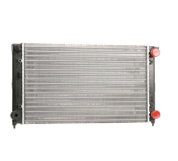 MAHLE ORIGINAL Radiator engine cooling VW Mechanically jointed cooling fins, Manual Transmission, Automatic Transmission