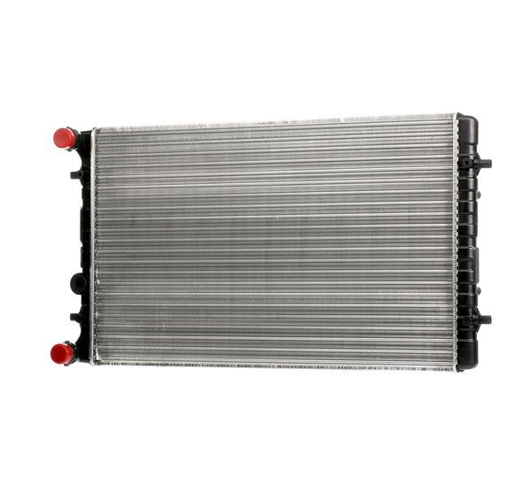 MAHLE ORIGINAL Radiador arrefecimento do motor VW Aletas de refrigeração unidas mecanicamente, Caixa de velocidades manual