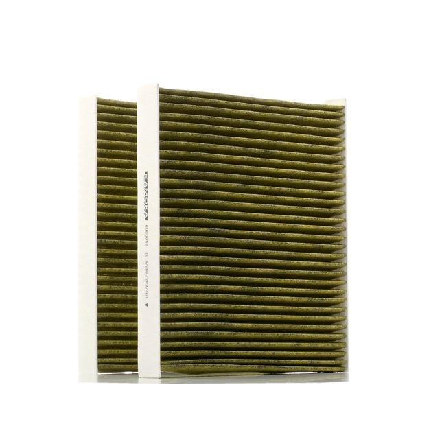 Filter, Innenraumluft Länge: 246mm, Breite: 207mm, Höhe: 30mm mit OEM-Nummer 64119163329