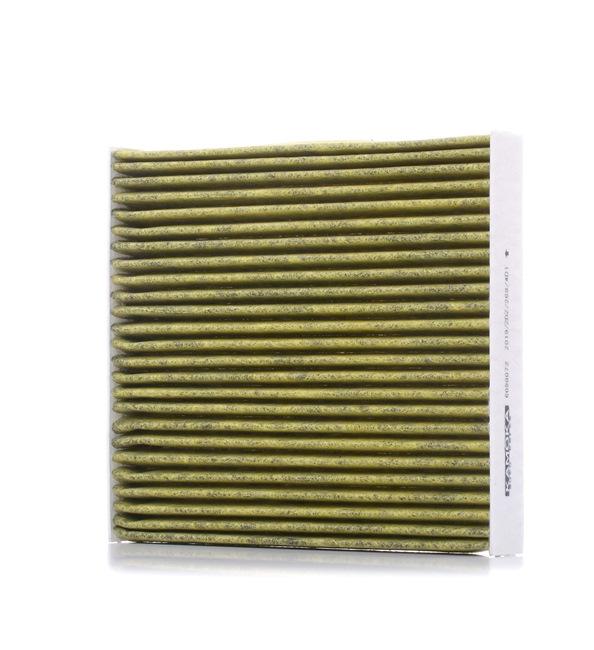 KAMOKA Aktivkohlefilter, Feinstaubfilter (PM 2.5), mit antiallergischer Wirkung, mit antibakterieller Wirkung, mit fungizider Wirkung 6080072
