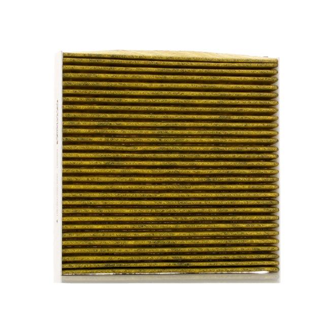 Filtro de aire acondicionado KAMOKA 15499318 Filtro de carbón activado, con efecto bactericida, Filtro partículas finas (PM 2.5), con efecto fungicida, con efecto antialérgico