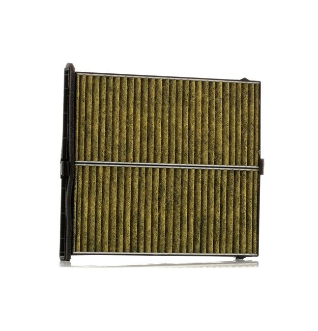 Filtro de aire acondicionado KAMOKA 15499327 con efecto antialérgico, con efecto bactericida, con efecto fungicida, Filtro de carbón activado, Filtro partículas finas (PM 2.5)