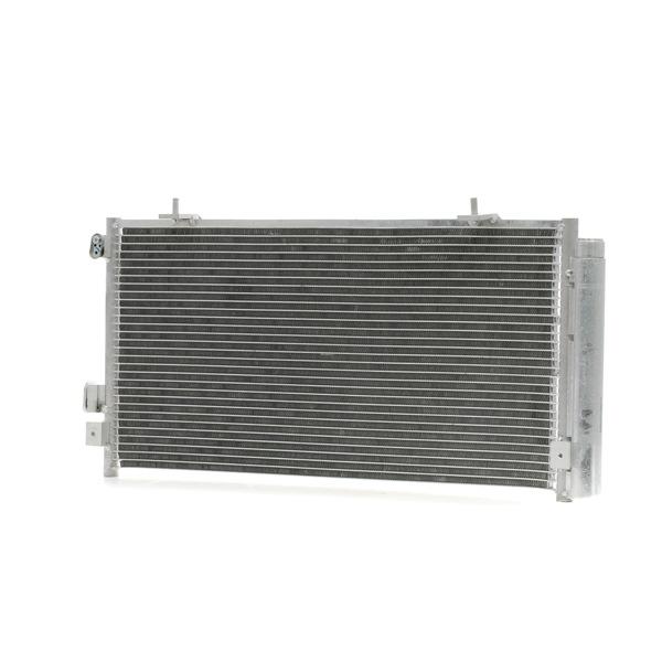 Kondensator, Klimaanlage Netzmaße: 620x300x16 mit OEM-Nummer 73210-SC012