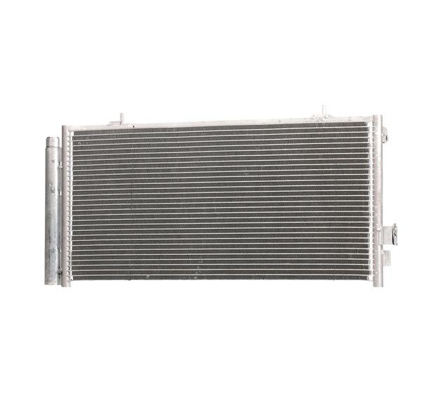 Kondensator, Klimaanlage Netzmaße: 620x300x16 mit OEM-Nummer 73210SC012