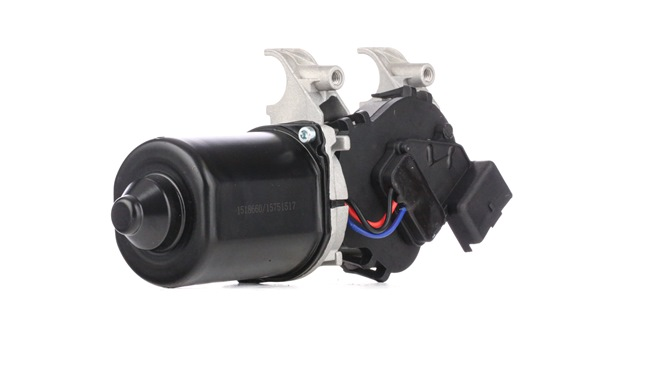 Windshield wiper motor RIDEX 15751517 Front, for left-hand drive vehicles