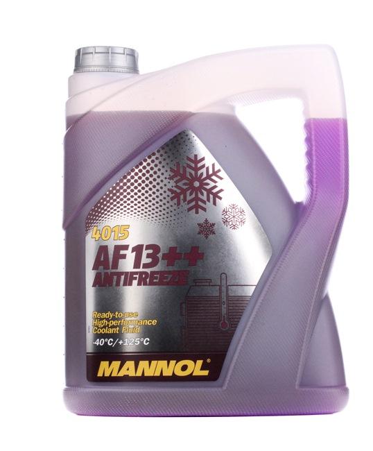 MANNOL AF13++, High-performance Płyn do chłodnicy koncentrat Pojemność: 5l, liliowy