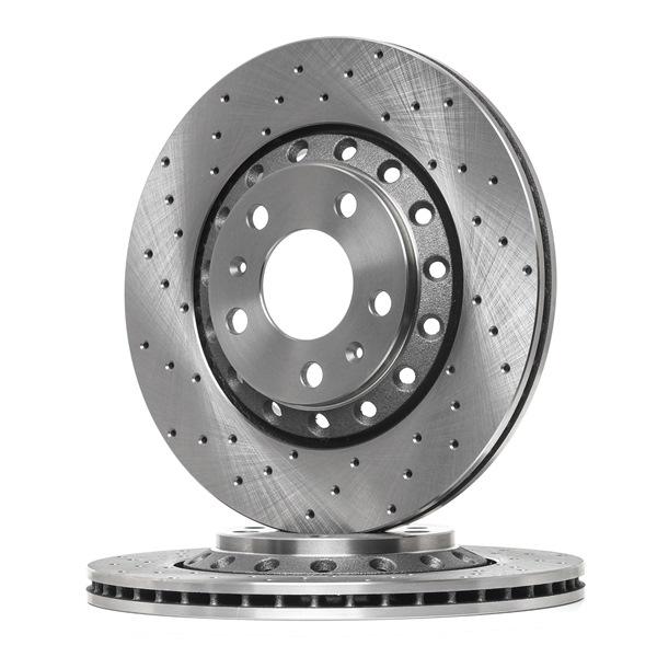 OEM RIDEX 82B2798 VW PHAETON Brake discs and rotors