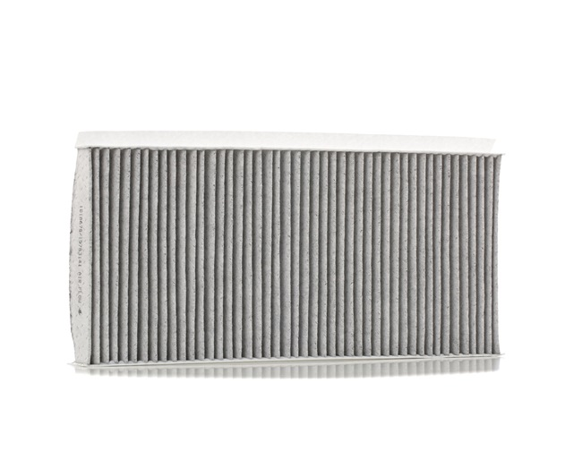 Cabin filter RIDEX 15783141 with anti-allergic effect, with antibacterial action, Charcoal Filter, Particulate filter (PM 2.5), with Odour Absorbent Effect