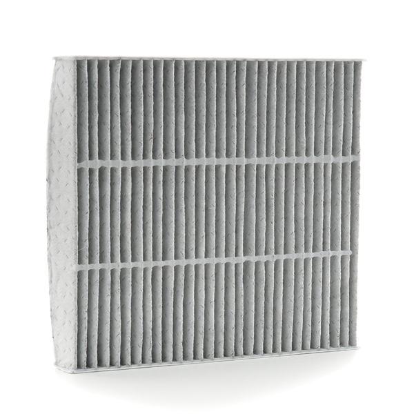 RIDEX Kabinový filtr MITSUBISHI s antialergickým účinkem, s antibakteriálním účinkem, Filtr s aktivním uhlím