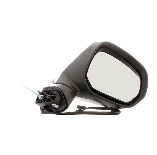 Offside wing mirror STARK 15789177 Right, Complete Mirror, Convex, for electric mirror adjustment, Heatable, with thermo sensor, Primed