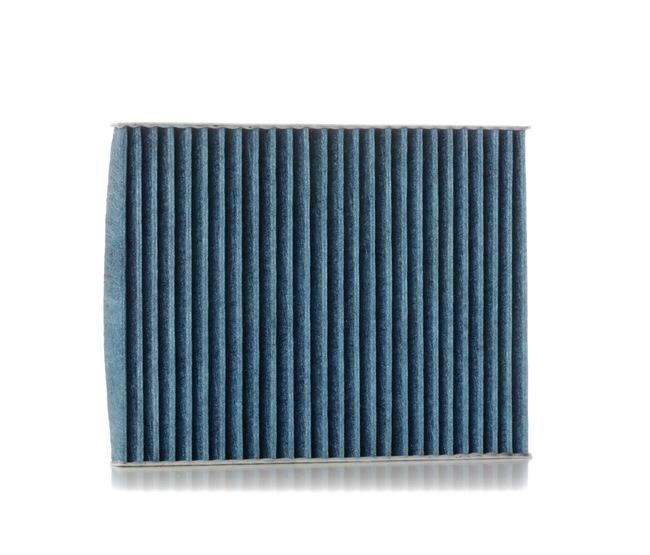 Filtro de aire acondicionado RIDEX 15789384 con efecto antialérgico, con efecto bactericida, Filtro de carbón activado
