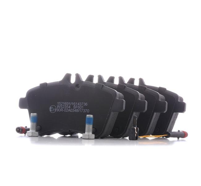 Brake Pad Set, disc brake 402B1427 A-Class (W169) A 200 CDI 2.0 (169.008, 169.308) MY 2008