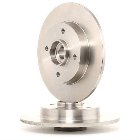 BREMBO BEARING DISC LINE plein, avec kit de roulement de roue, avec bague ABS 08951227