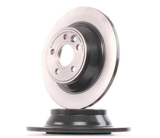 Bremsscheibe Bremsscheibendicke: 12mm, Lochanzahl: 5, Ø: 302mm mit OEM-Nummer 30769058