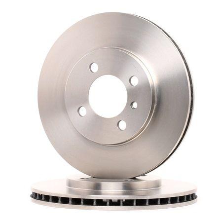 Frenos de disco BREMBO 1656768 Ventilación interna, con tornillos
