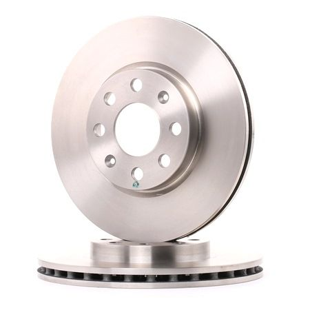 Brake discs and rotors BREMBO 1657002 Internally Vented, with screws