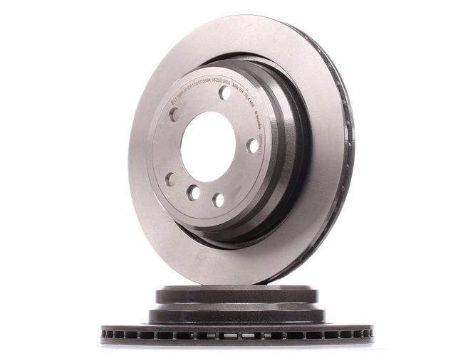 BREMBO COATED DISC LINE Innenbelüftet, beschichtet, hochgekohlt, mit Schrauben 09684111