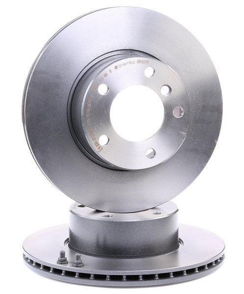 Bremsscheibe Bremsscheibendicke: 22mm, Lochanzahl: 5, Ø: 296mm mit OEM-Nummer 34 11 1 164 839