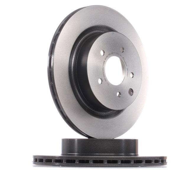 BREMBO COATED DISC LINE Innenbelüftet, beschichtet, hochgekohlt 09735621