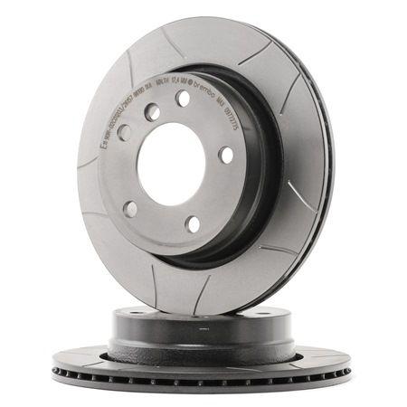 Bremsscheibe Bremsscheibendicke: 19mm, Lochanzahl: 5, Ø: 276mm mit OEM-Nummer 34 211 162 315