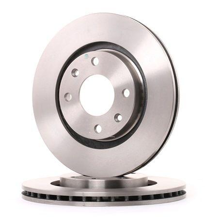 Bremsscheibe Bremsscheibendicke: 22mm, Lochanzahl: 4, Ø: 266mm mit OEM-Nummer 4249 83